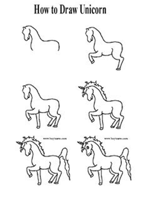 how to draw a doodle unicorn how to draw a unicorn for a unicorn and for