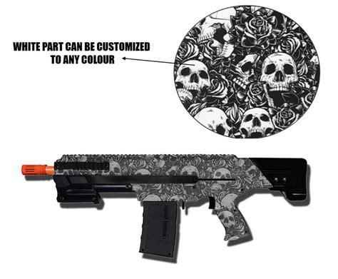 Digitec Dg 2024t Black Combi Gold Original custom painted nerf blaster sale hydro dipped in skull pattern