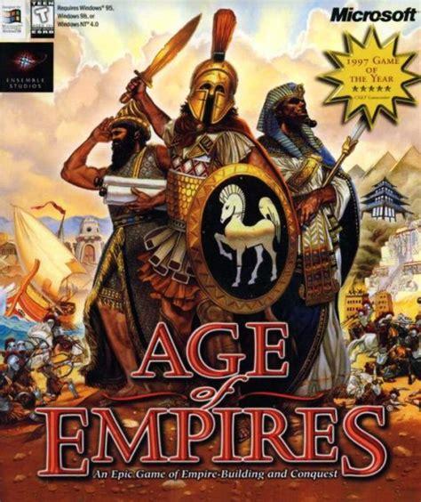 Aoe 26 Bv Tshirtkaosraglananak Oceanseven age of empires 1997