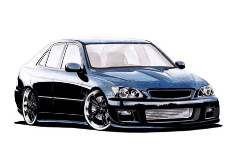 lexus is300 drawing lexus is200 by sketch52000 on deviantart