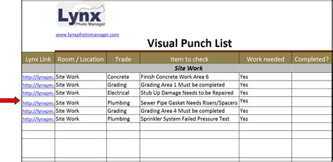 digital punch card excel template punch list construction beneficialholdings info