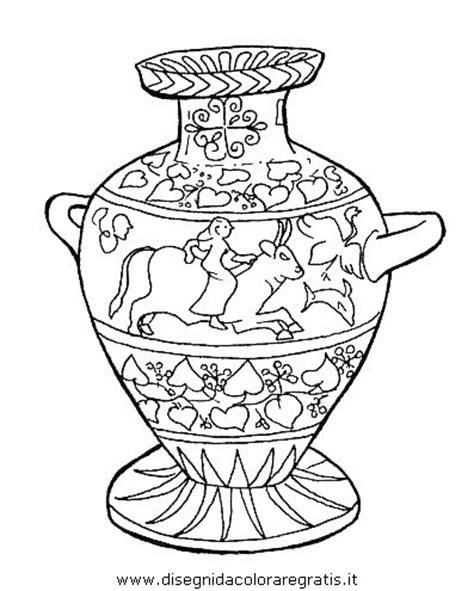 vaso greco da colorare disegno egitto 10 categoria nazioni da colorare