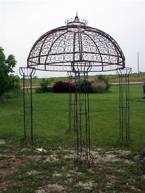 wrought iron gazebo wrought iron jester arbor gazebo garden arch