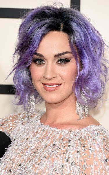 Chandelier Bob Katy Perry Short Wavy Cut Katy Perry Looks Stylebistro