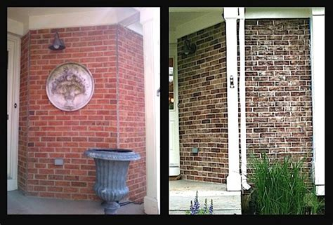 stained brick house crystal lake il exterior brick staining project traditional chicago by brick