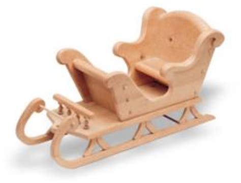 sleigh plans  woodworking