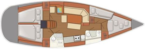 chiglia mobile delphia 40 3 deriva mobile e 4 cabine etruria