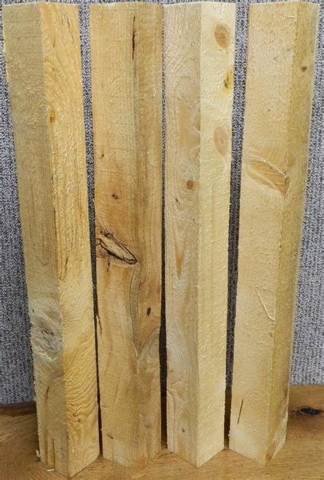 4 knotty pine rustic 3 5x3 5 table legs turning blanks