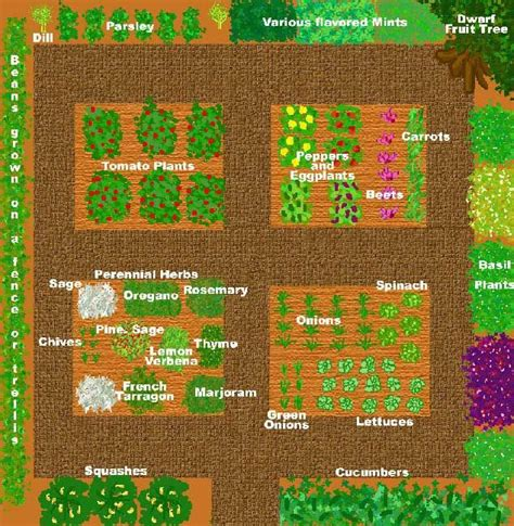 Vegetable And Herb Garden Layout Kitchen Garden Designs Sle Vegetable Garden Plans