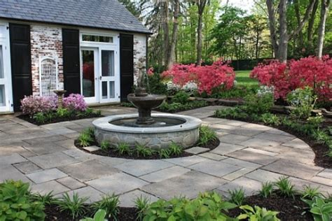 house fountain design garden with a fountain landscaping gardening ideas