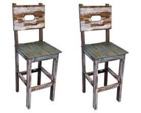 qty 2 30 quot slatted wood bar stools real wood rustic western