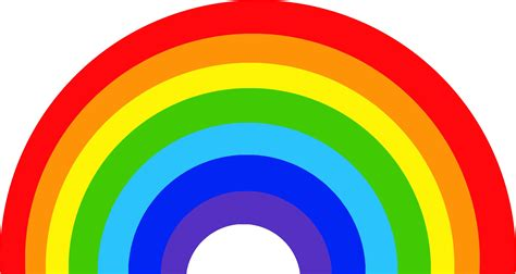 what are the seven colors of the rainbow rainbow pattern children rainbow seven colors of