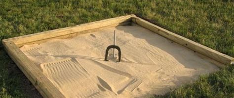 bob vila diy pit how to build a horseshoe pit bob vila