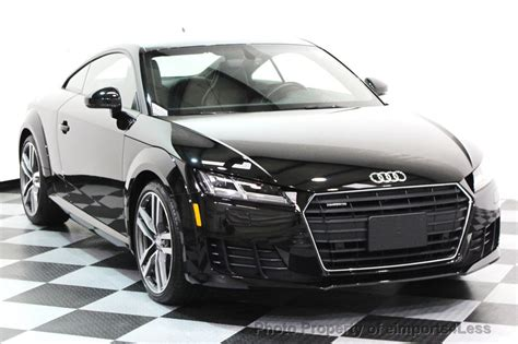 Used Audi Tt Convertible 2016 Used Audi Tt Certified Tt Coupe 2 0t Quattro Awd Tech