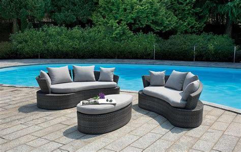 divanetti rattan set divanetto giardino senigallia 2 divani onda tavolino