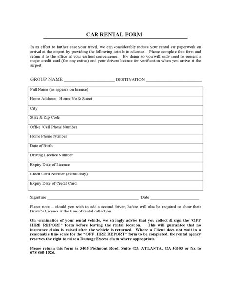 auto lease agreement template car lease form 4 free templates in pdf word excel