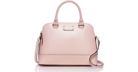 Preloved Kate Spade Pink kate spade new york wellesley small rachelle in pink lyst
