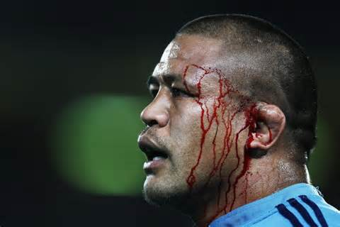 bleeding for the cause blues skipper keven mealamu