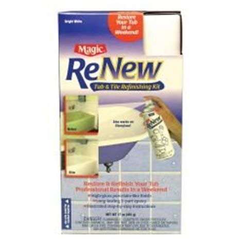 spray on bathtub refinishing kit magic renew tub tile refinishing kit household paints