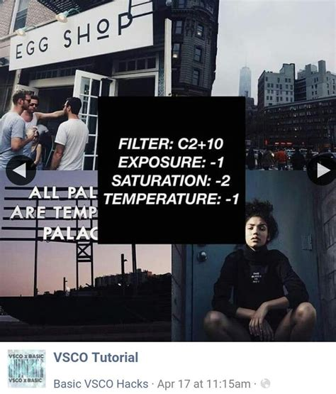 tutorial vsco filter 169 vsco tutorials photography tips pinterest vsco