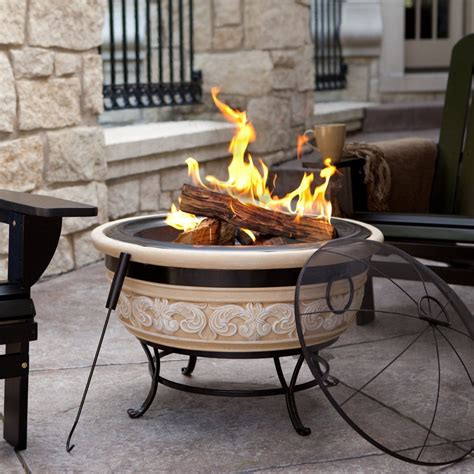 backyard portable fire pit portable fire pit home decorator shop