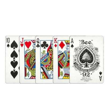 bee premium playing cards bee poker cards