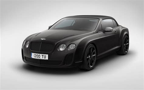 Bentley Continental Gt Matte Black Wallpaper 1920x1080