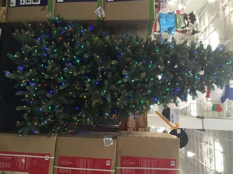 ez connect 9ft christmas tree instuctions pre lit led ez connect dual color chrismas trees at costco costcochaser