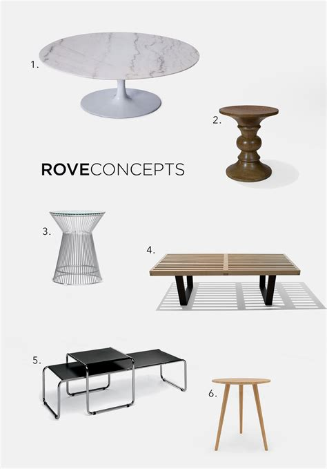 coffee tables shopping shopping for modern coffee tables and side tables at rove