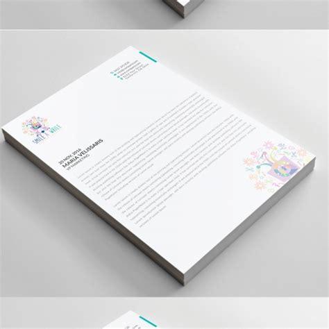 design header in php company professional letterhead design