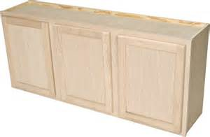 Paintable Kitchen Cabinets Quality One Woodwork Lc5424 54x24 Unfinished Oak Laundry Wall Cabinet At Sutherlands