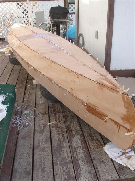 boat building wood glue stitch and glue wikipedia diy boats pinterest