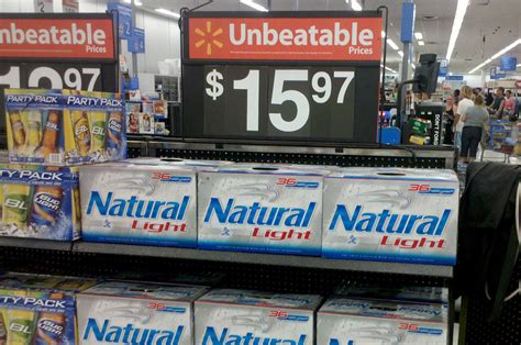 busch light 30 pack price walmart walmart says dad can t buy beer because he s shopping with