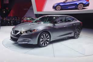 York Nissan 4dsc 2016 Nissan Maxima Debuts In New York