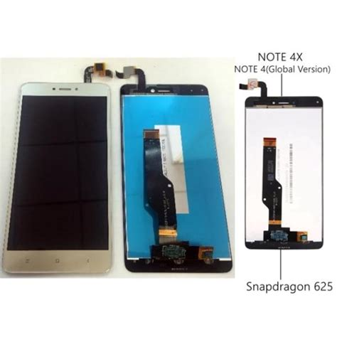 Lcd Redmi Note 4x xiaomi redmi note 4x original display lcd with gold touch