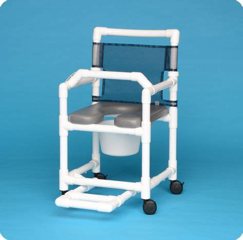 soft seat shower commode chair  lap bar