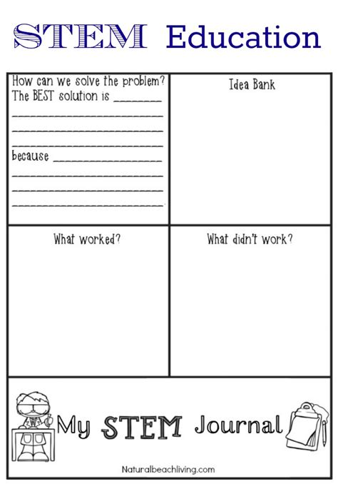 free printable educational journal articles stem education for preschoolers ideas and printables