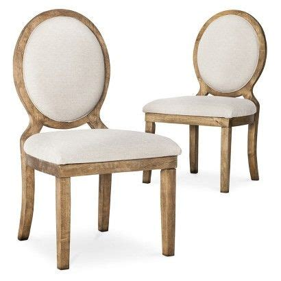 oval back dining room chairs kinfine morris oval back dining chair toast set of 2
