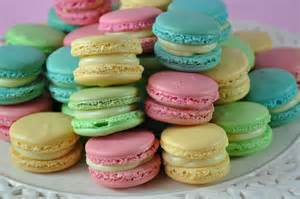 colored macaroons macarons backgrounds 4k