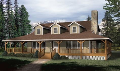 rustic house plans with wrap around porches rustic country