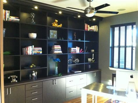 custom bookcase home office denver by