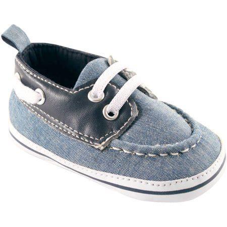 baby boat shoes luvable friends newborn baby boys boat shoes walmart