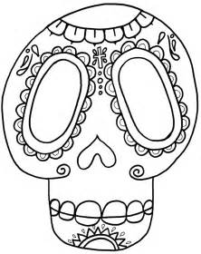 sugar skull coloring sugar skull coloring page az coloring pages