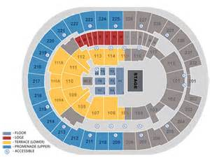 Amway Center Floor Plan by Seating Maps Amway Center