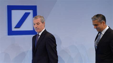 deutsche bank verlust 2013 endet mit milliarden verlust altlasten ziehen