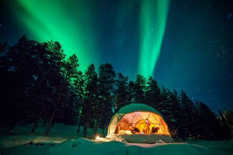 Domes At Harriniva Wilderness Lodge Nordic Experience