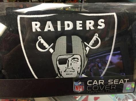 oakland raiders seat cover raiders seat cover nfl raiders