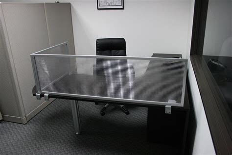 desk mounted privacy panel photo gallery obex cubicle extenders