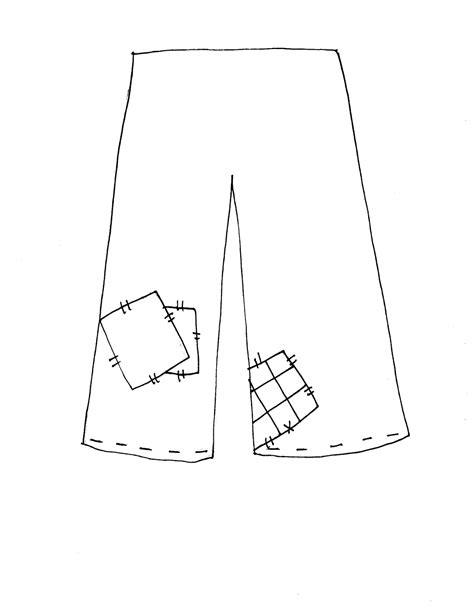 printable pants template free dearie dolls digi sts build your own scarecrow