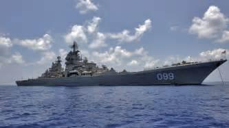 Kirov class heavy missile cruiser 099 russian navy russia